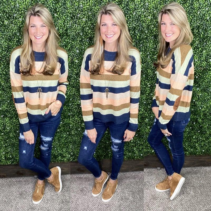 Harmony Striped Sweater