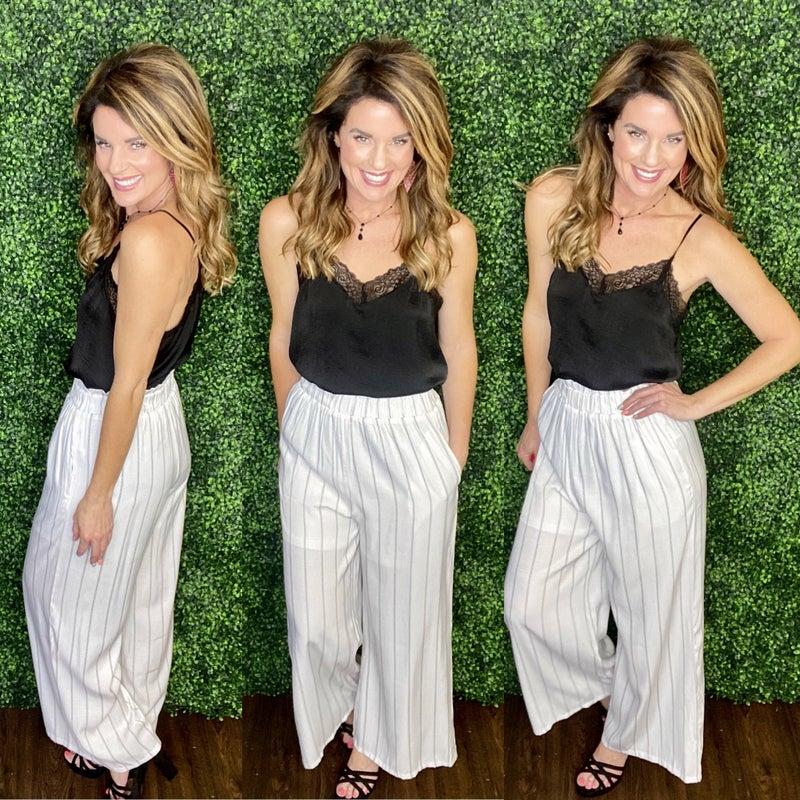 Heavenly Striped Pants