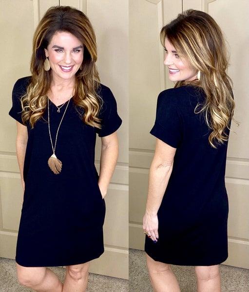 Basically Beautiful V-Neck Dresses