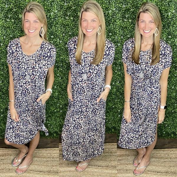 Love & Leopard Maxi Dress