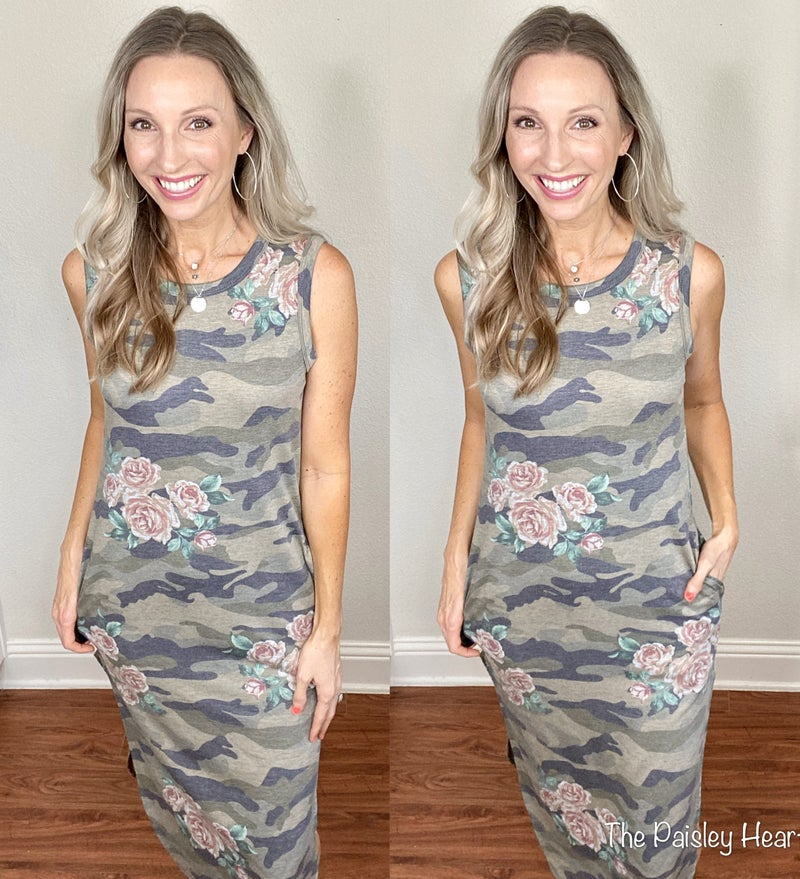 Prettier Side of Camo Dress
