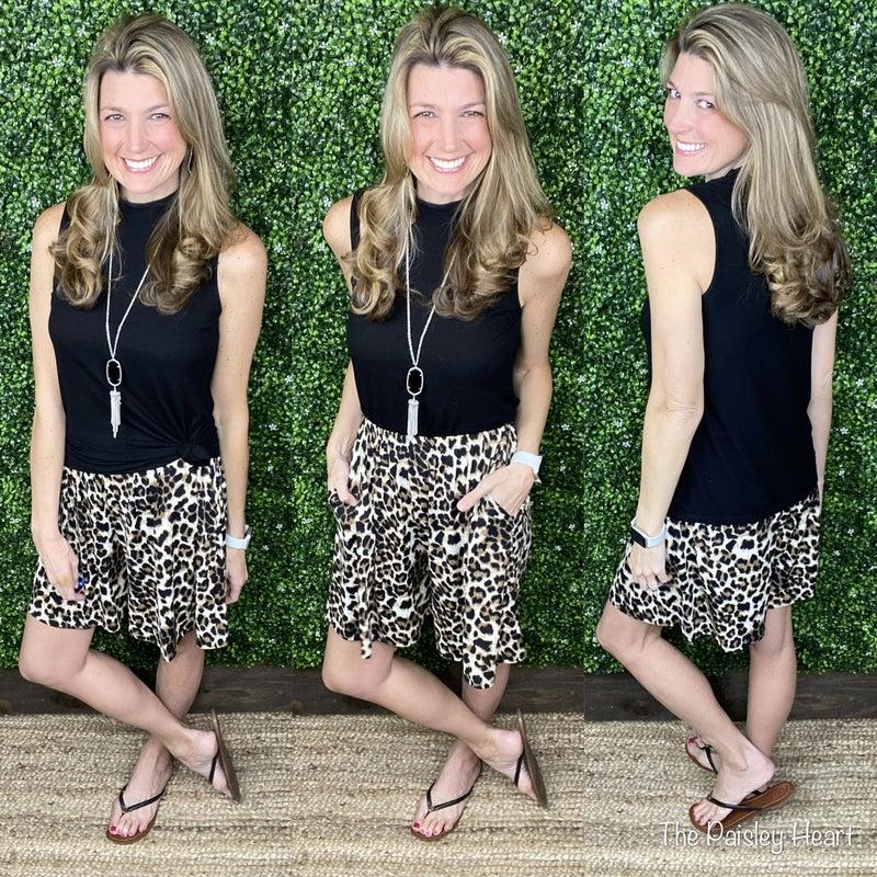 Kelly Cheetah Shorts