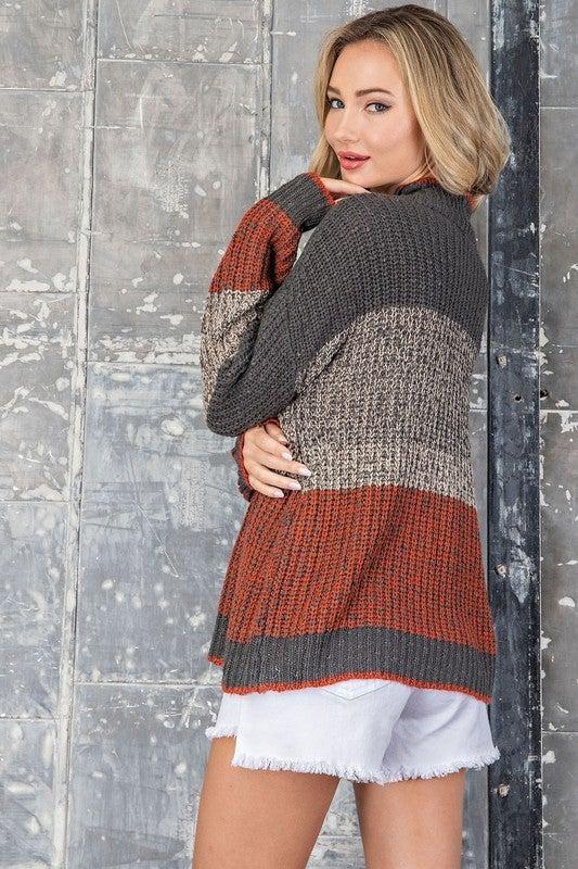 Brielle Colorblock Sweater
