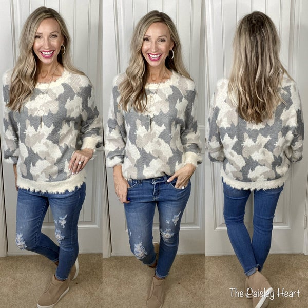 Finding Comfort Knit Sweater