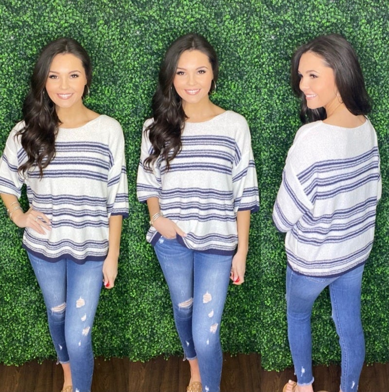 Hastings Stripe Top