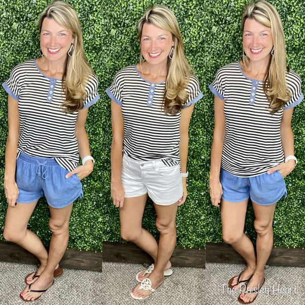 Stripes & Chambray All Day