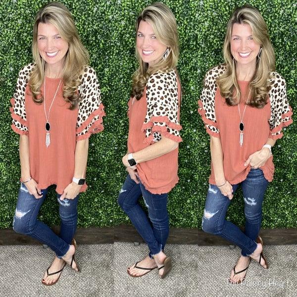 Karlie Cheetah Top