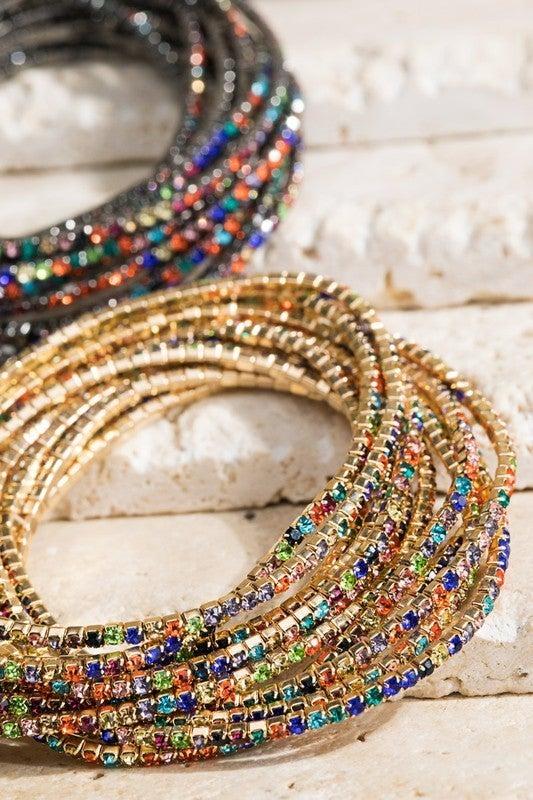 Link Chain Bracelet Set