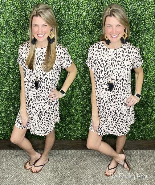 On Trend Leopard Dress