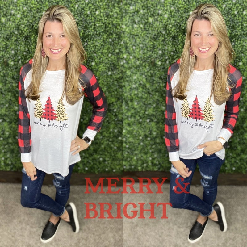 Merry & Bright Top