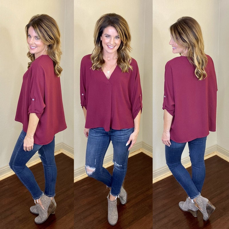 Pleated Beauty Top