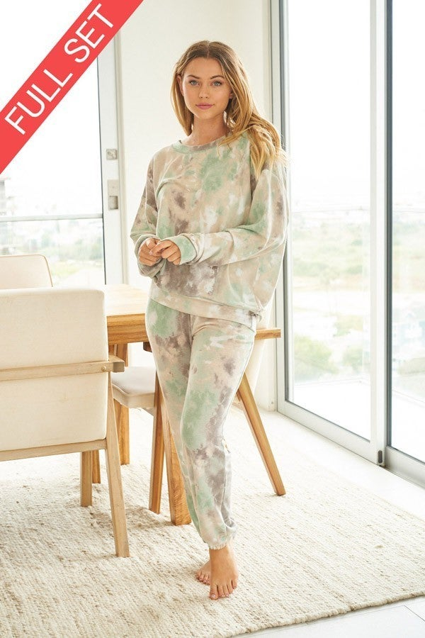 Comfort in Sage Two Piece Set
