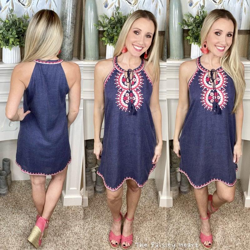 Baylee Embroidered Dress