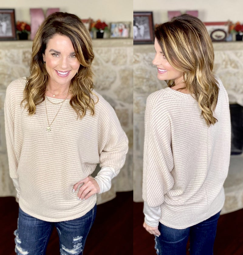 Forever Fall Waffle Knit Top