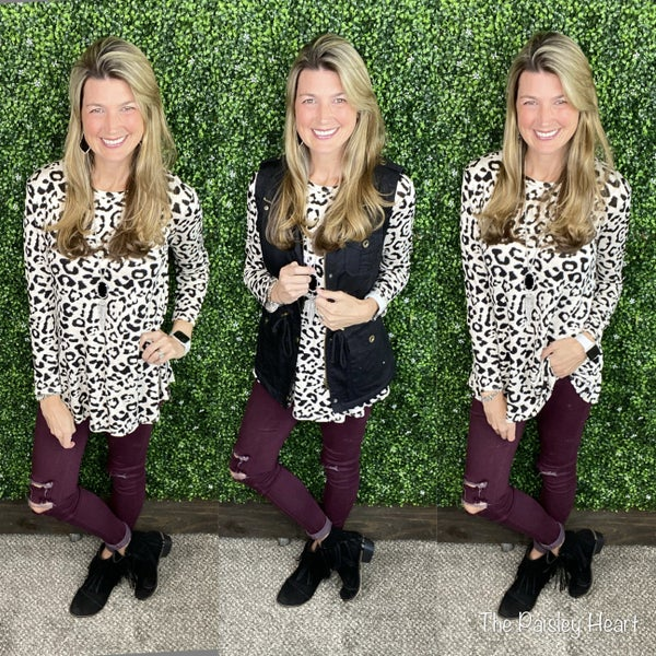 Endless Leopard Top
