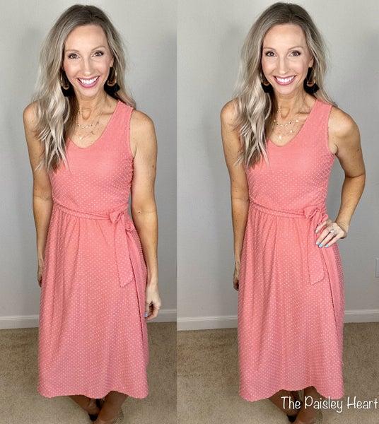Ellie Swiss Dots Tank Dress