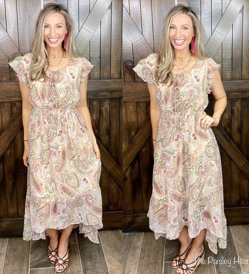 Paisley & Poised Dress