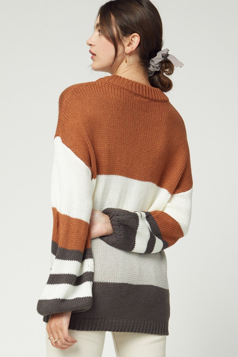 Kennedy Colorblock sweater