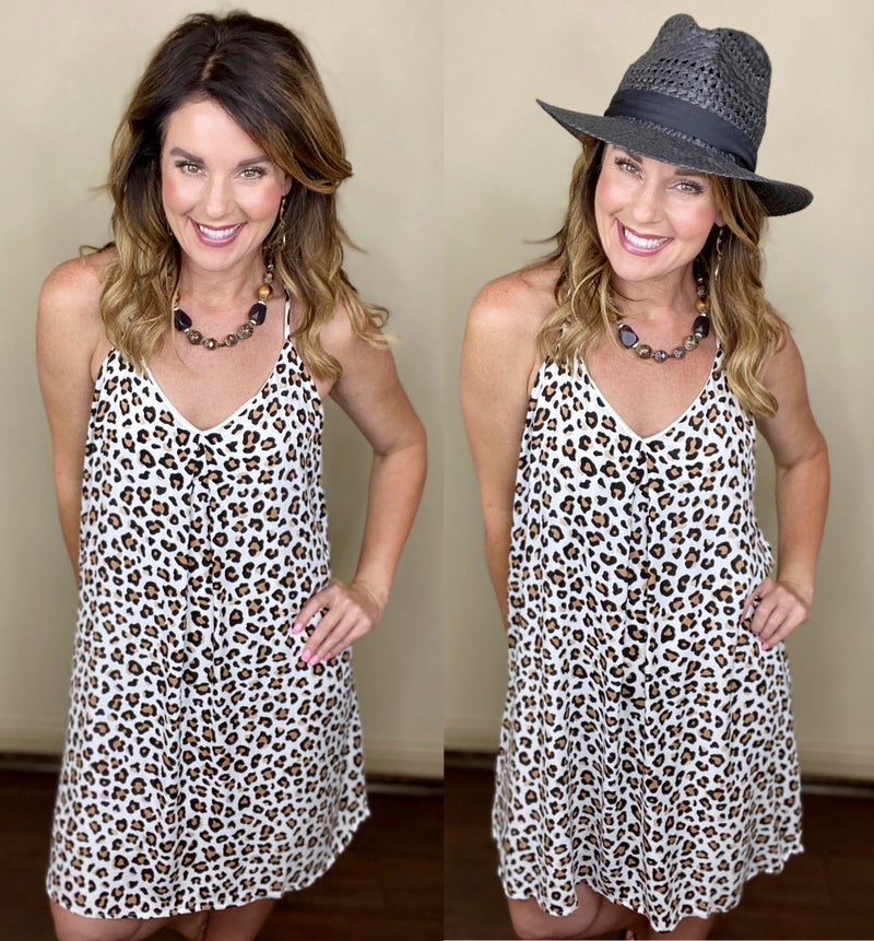 Greer Leopard Dress