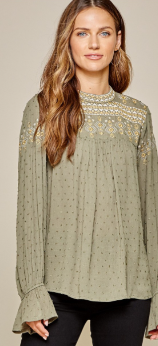 Karina Swiss Dot Embroidered - LIMITED/NO RESTOCK