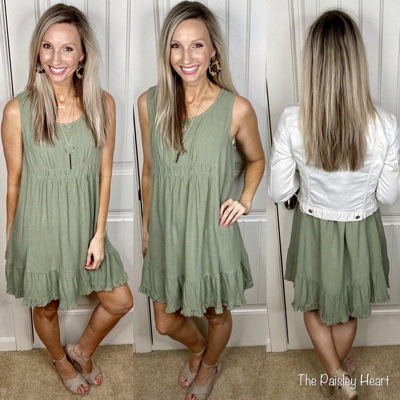 Summer Delight Tank Dress - 3 COLORS!