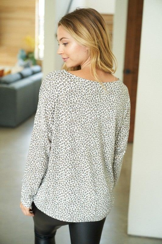 Rylee Leopard Top
