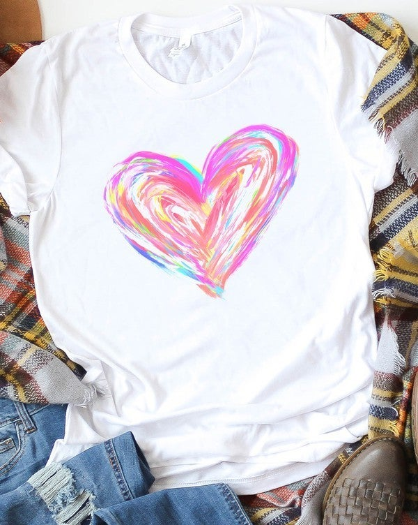 Painted Heart Top