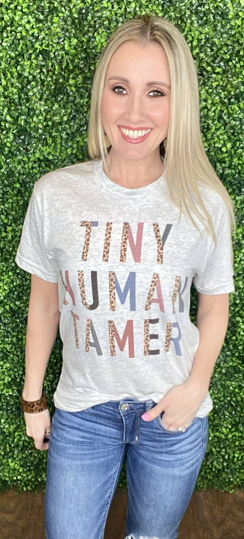 Tiny Human Tamer Graphic Tee