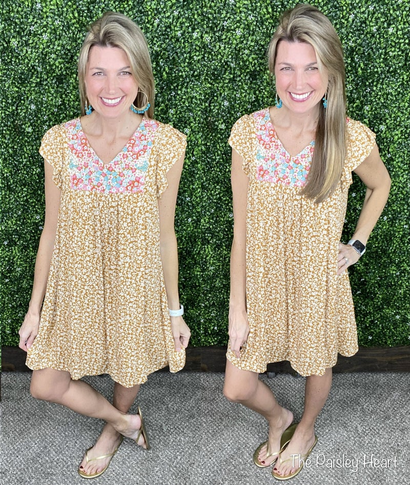 In Bloom Floral Dress