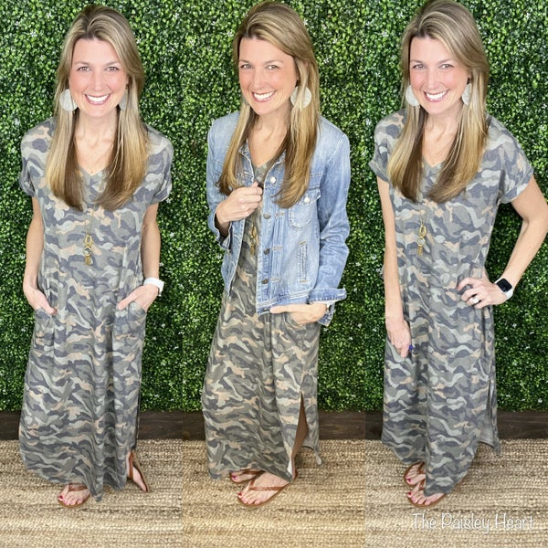 Just Chill Camo Dress
