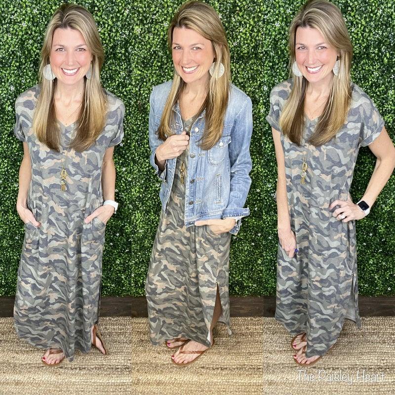 Just Chill Camo Dress