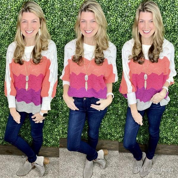 Hayden Sweater- Spring Edition!