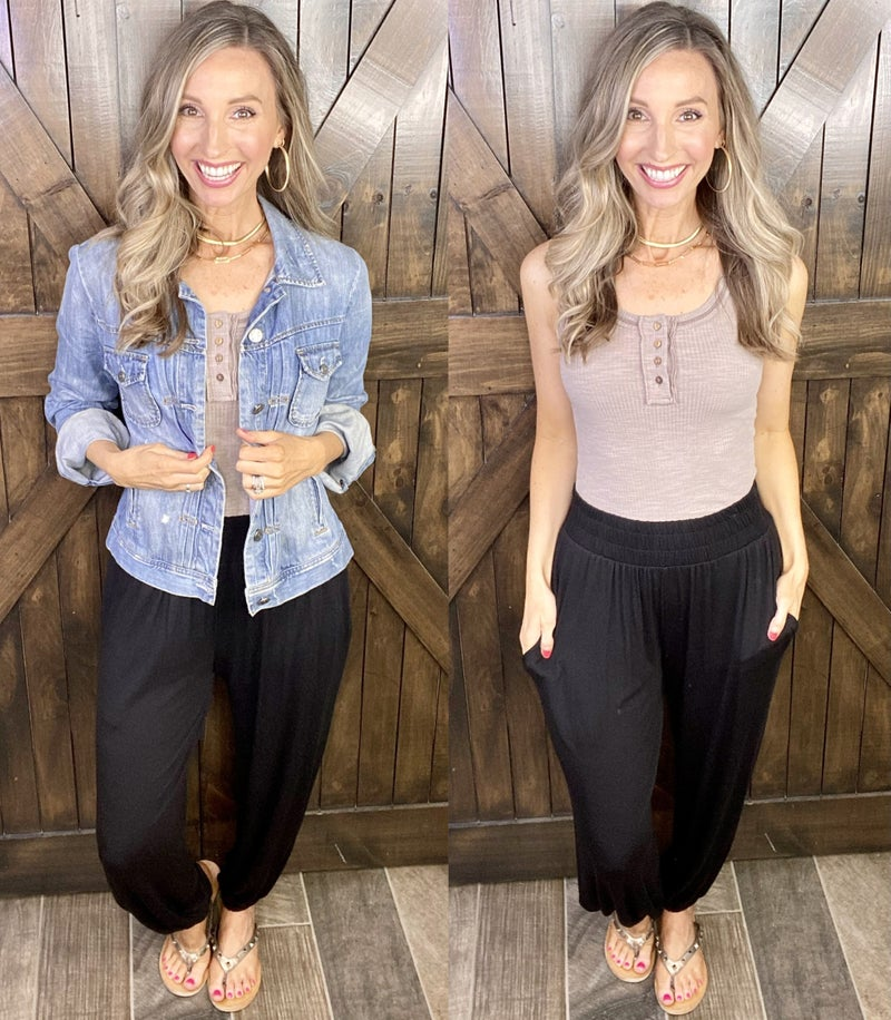 Love on the Weekend Jersey Knit Pants