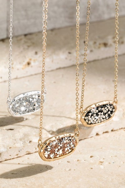 Modest Sparkle Necklace