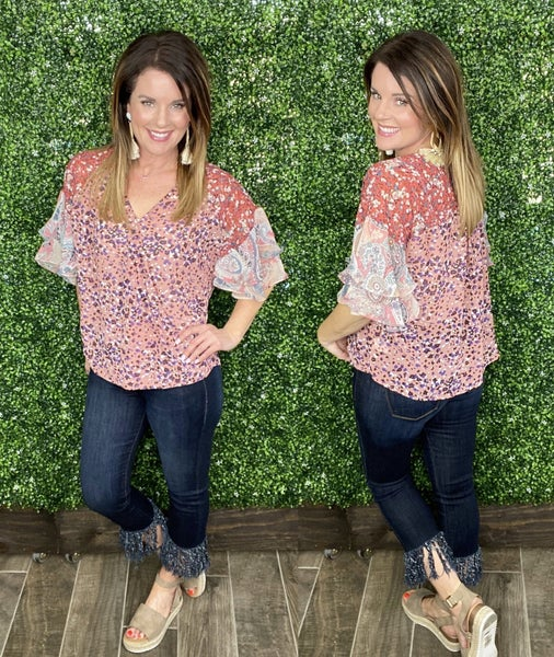 Delia Floral and Paisley