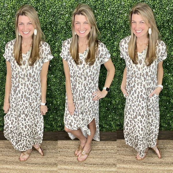 Sweet Rush Cheetah Maxi