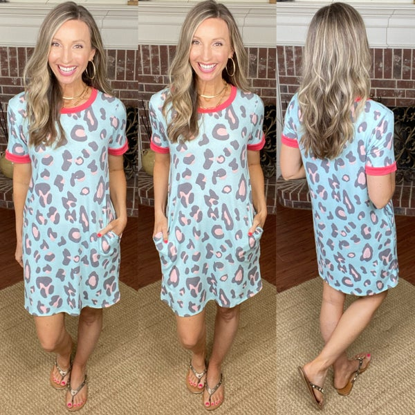 Tabby Cheetah Dress