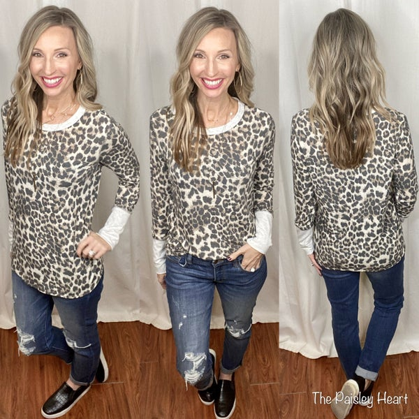 Leopard and Chill Tunic