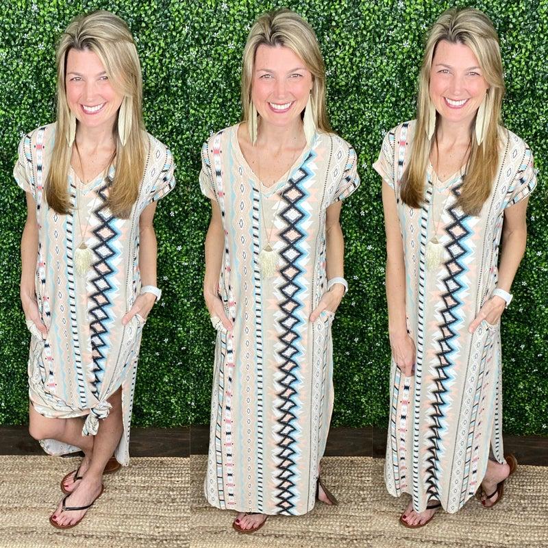 Camala Aztec Dress