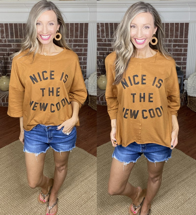 Nice Is The New Cool Top