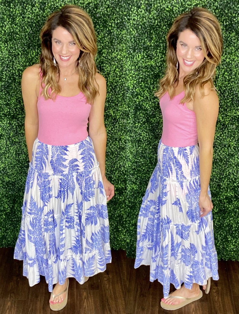 Tropical Perfection- Skirt OR Dress!