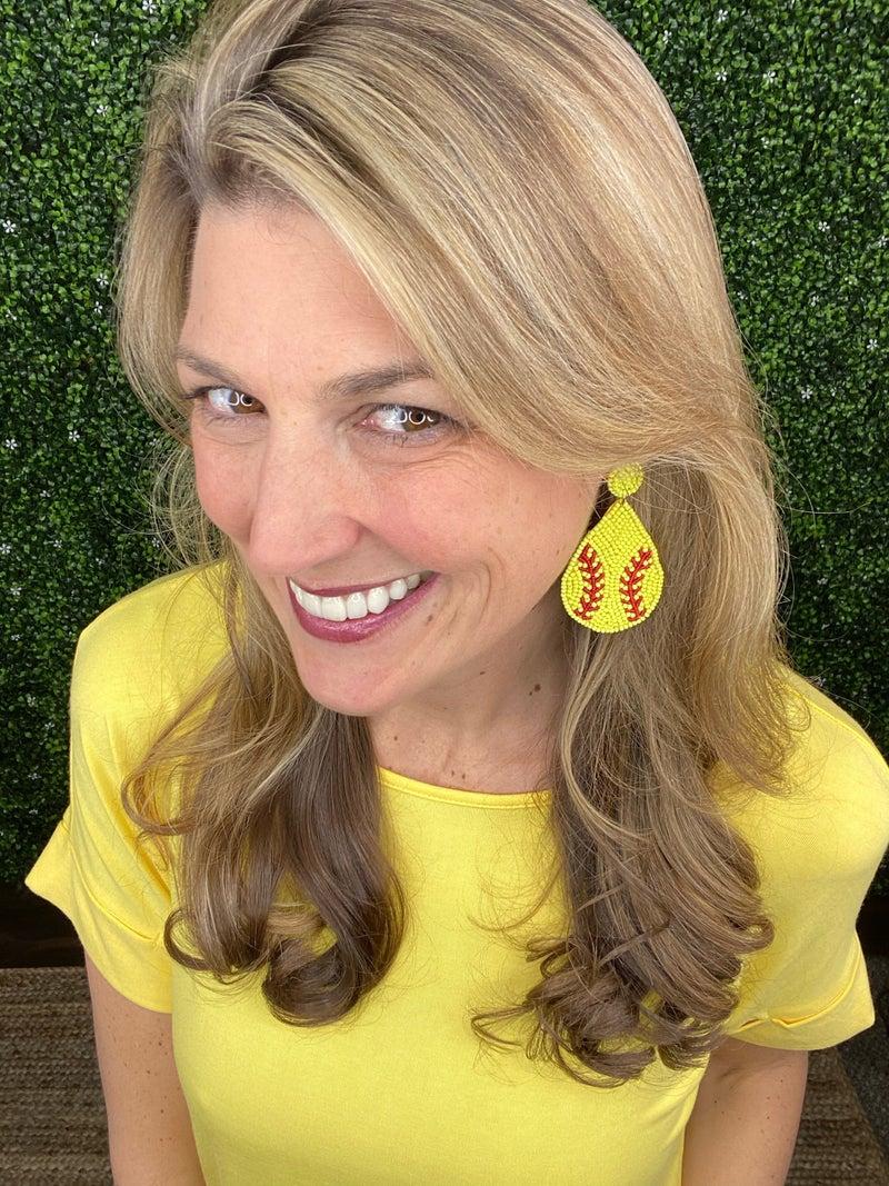 Softball Babe Earrings