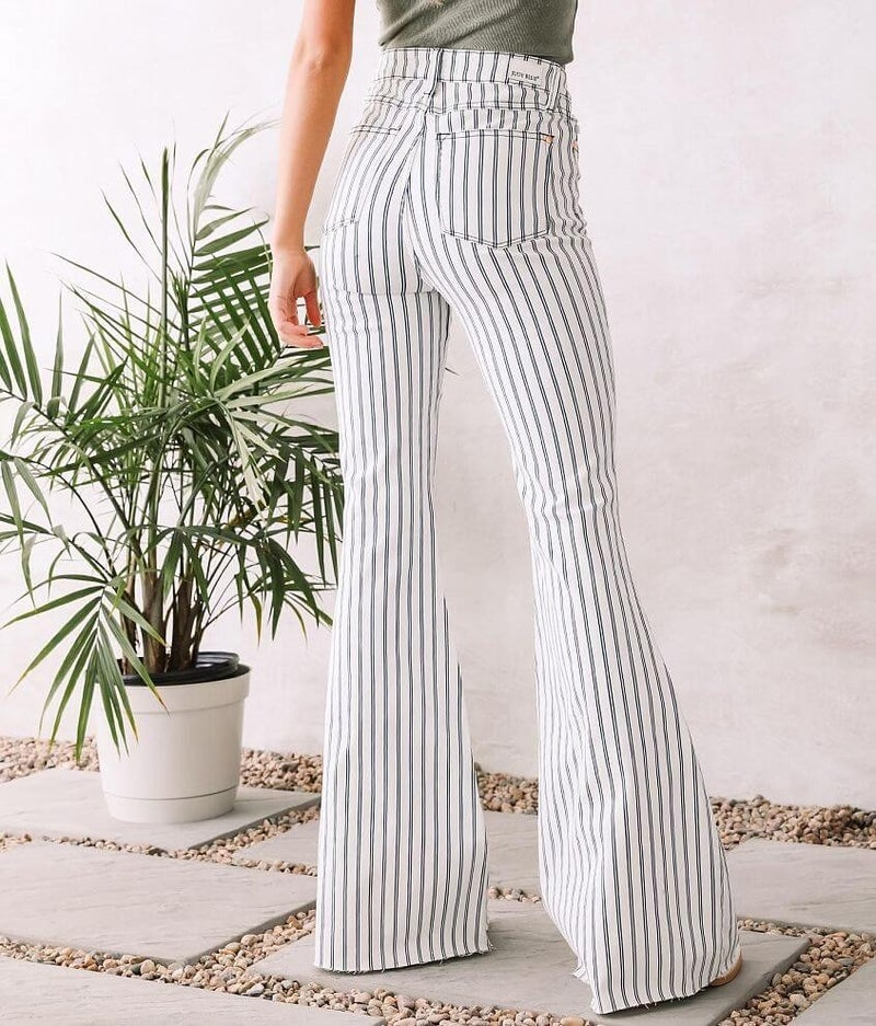 Judy Blue Striped Super Flares: LIMITED EDITION!