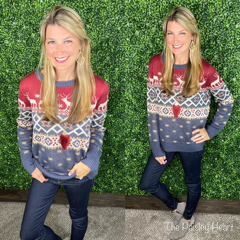 Reindeer Games Sweater - LIMITED EXCLUSIVE