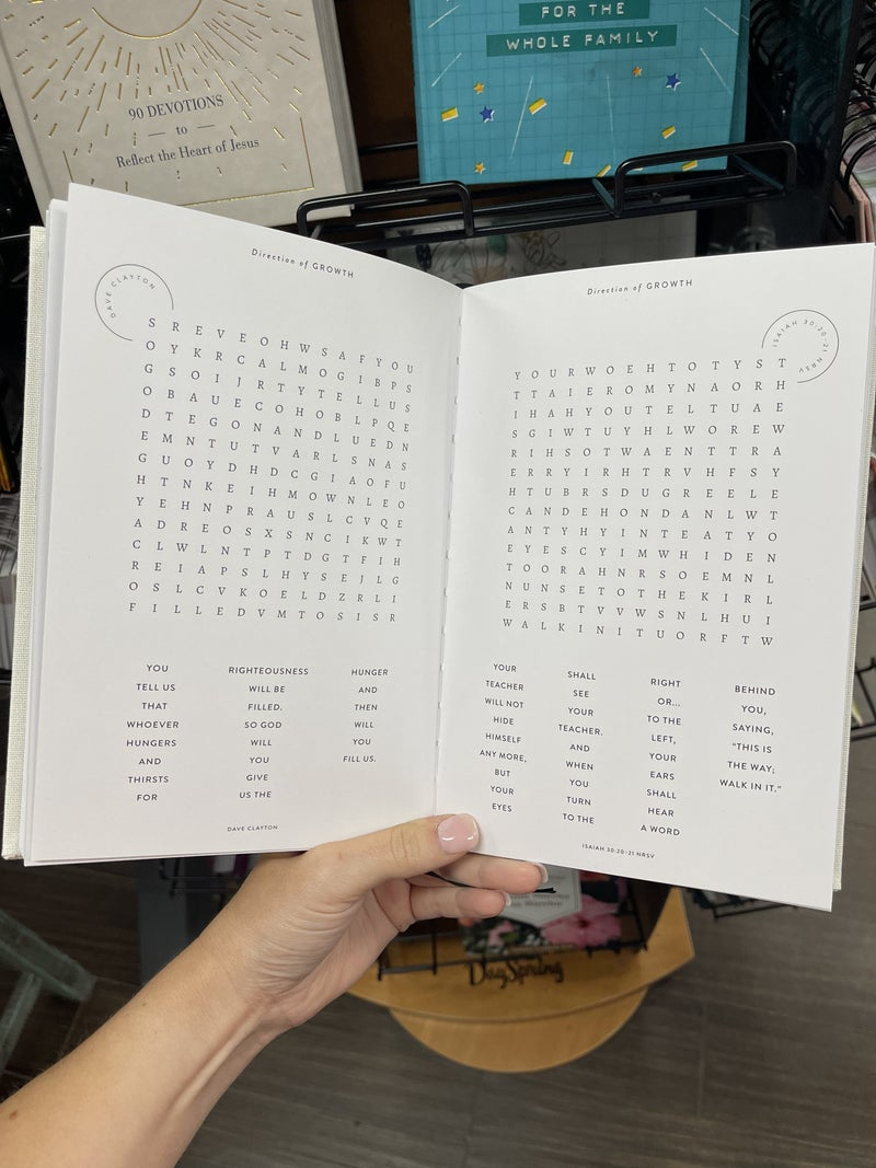 Inspirational word search