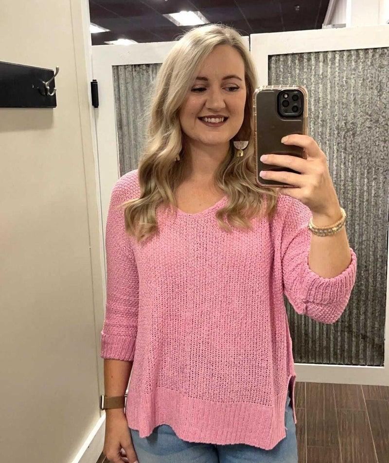 Bubblegum Knit Sweater