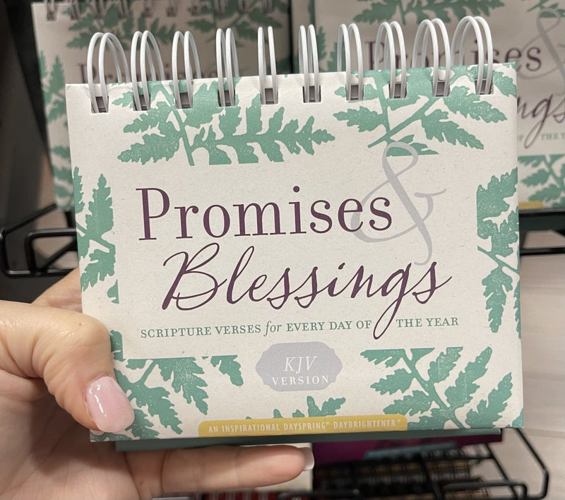 Inspirational calendar - Promises & Blessings