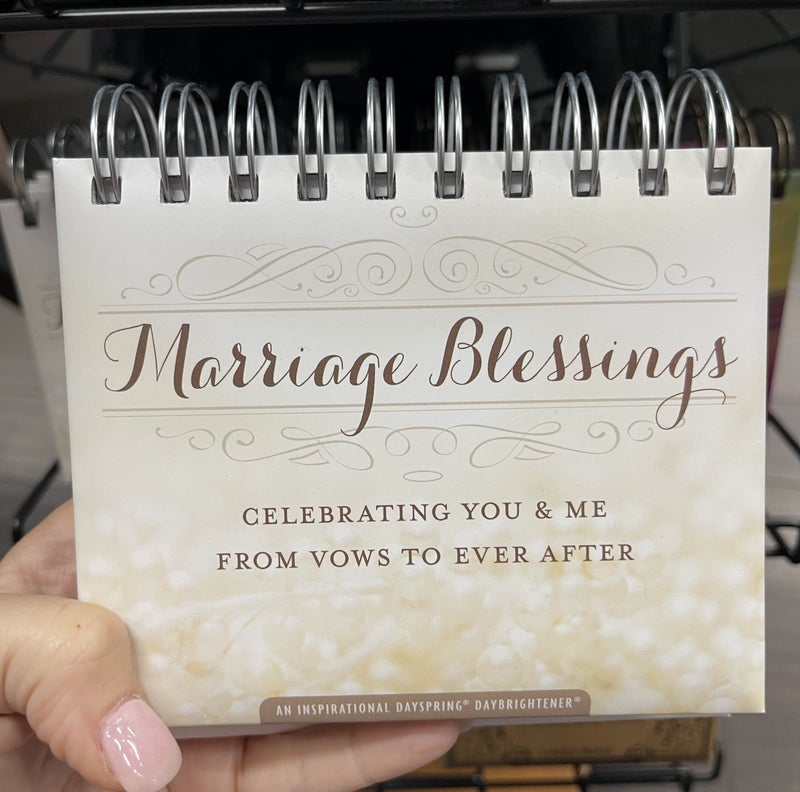 Inspirational Calendar - Marriage blessings