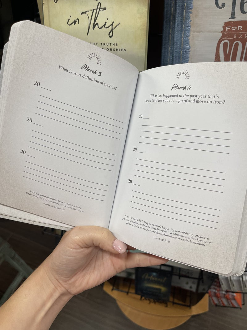 A Question A Day - 3 year inspirational journal