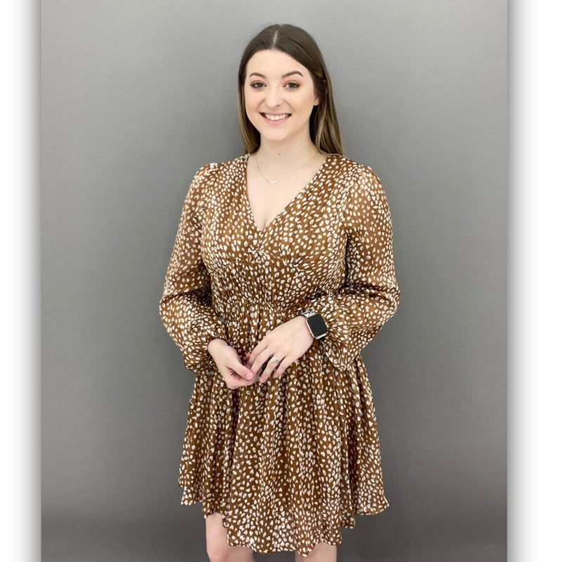 Caught in the spotlight dress
